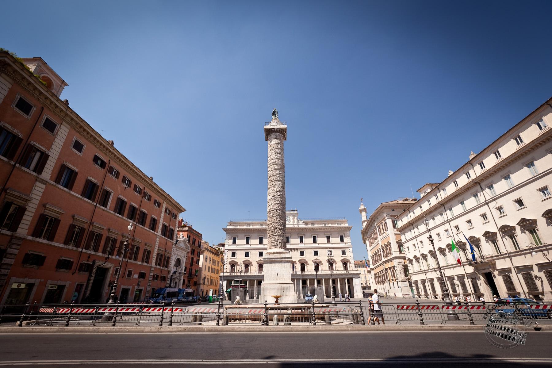 Piazza Colonna Roma