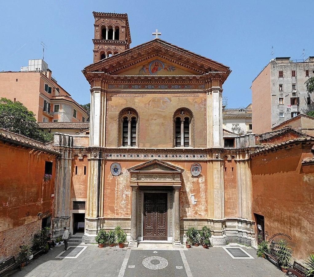 Esterno basilica di Santa Pudenziana