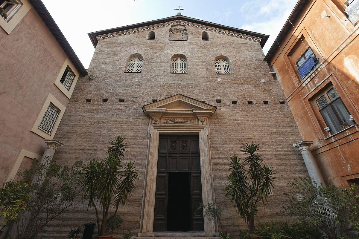 Facciata basilica di Santa Prassede