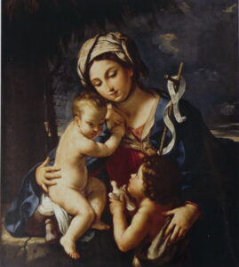 Elisabetta Sirani, Madonna con Bambino e San Giovannino