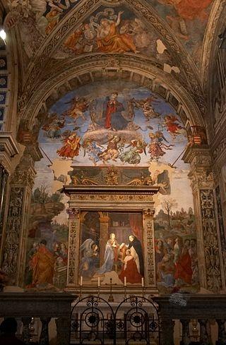Cappella Carafa, Basilica di Santa Maria sopra Minerva, Roma
