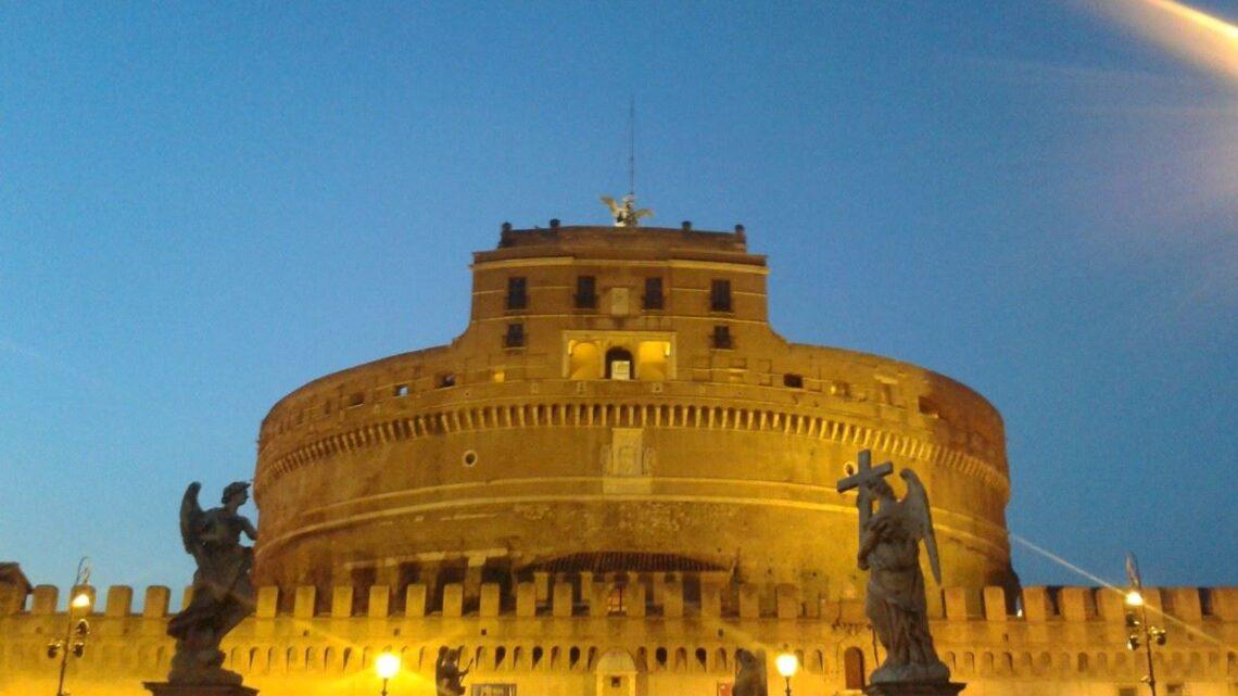 Buonanotte da Roma Castel Sant'Angelo