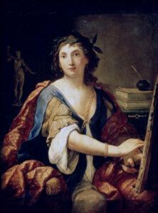 Elisabetta Sirani, Autoritratto, 1658, Museo Puškin delle belle arti, Mosca