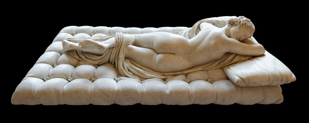 Ermafrodito, II sec. d.C., Museo del Louvre