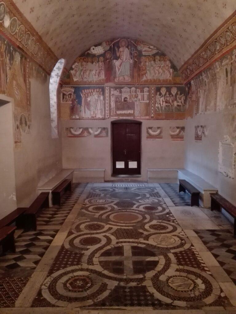 Interno Oratorio di San Silvestro, Roma