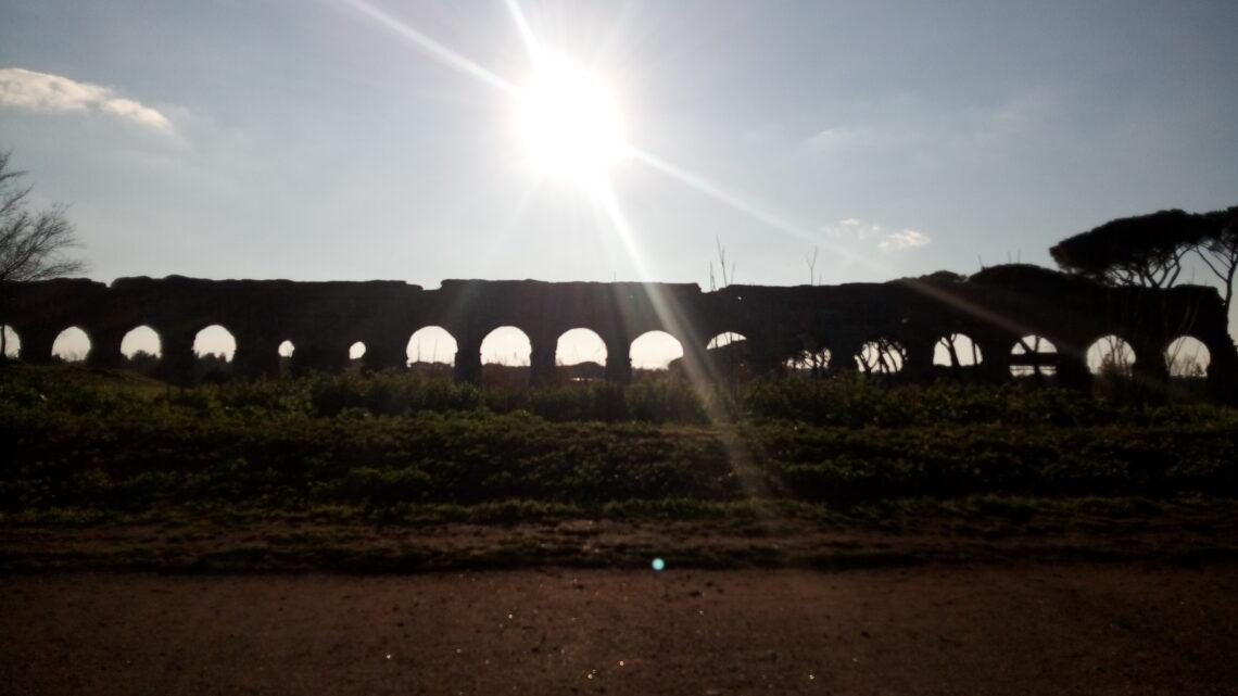 Buongiorno da Roma #parcodegliacquedottiromani
