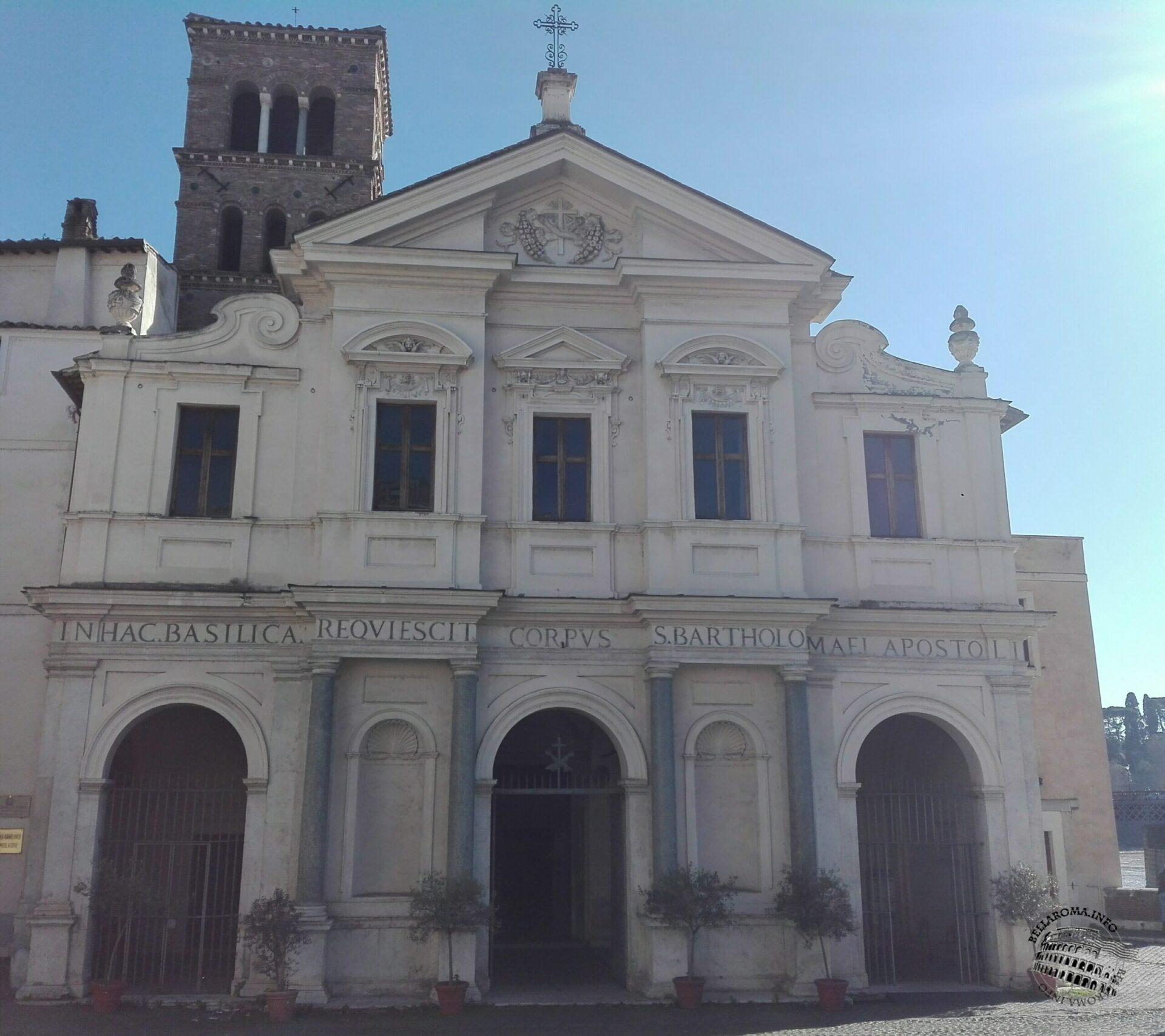 Chiesa di San Bartolomeo all'Isola, Roma
