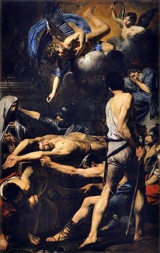 Valentin de Boulogne, Il martirio dei Santi Processo e Martiniano, Pinacoteca Vaticana