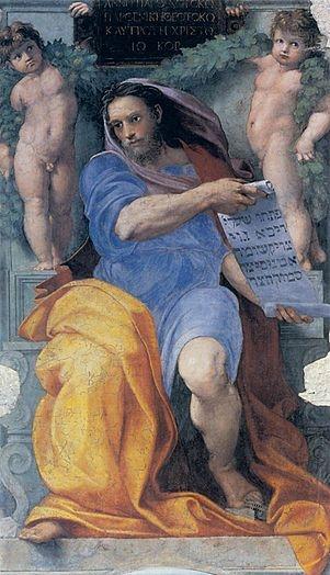 Raffaello, Profeta Isaia, Basilica di Sant'Agostino, Roma