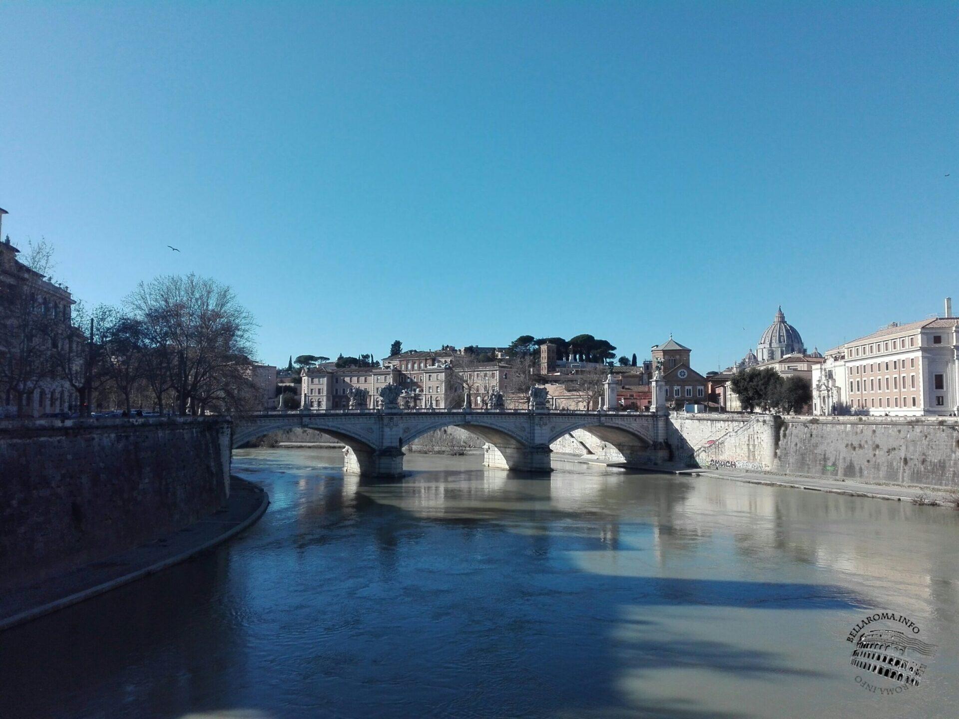 Il cupolone visto da Ponte Sant'Angelo