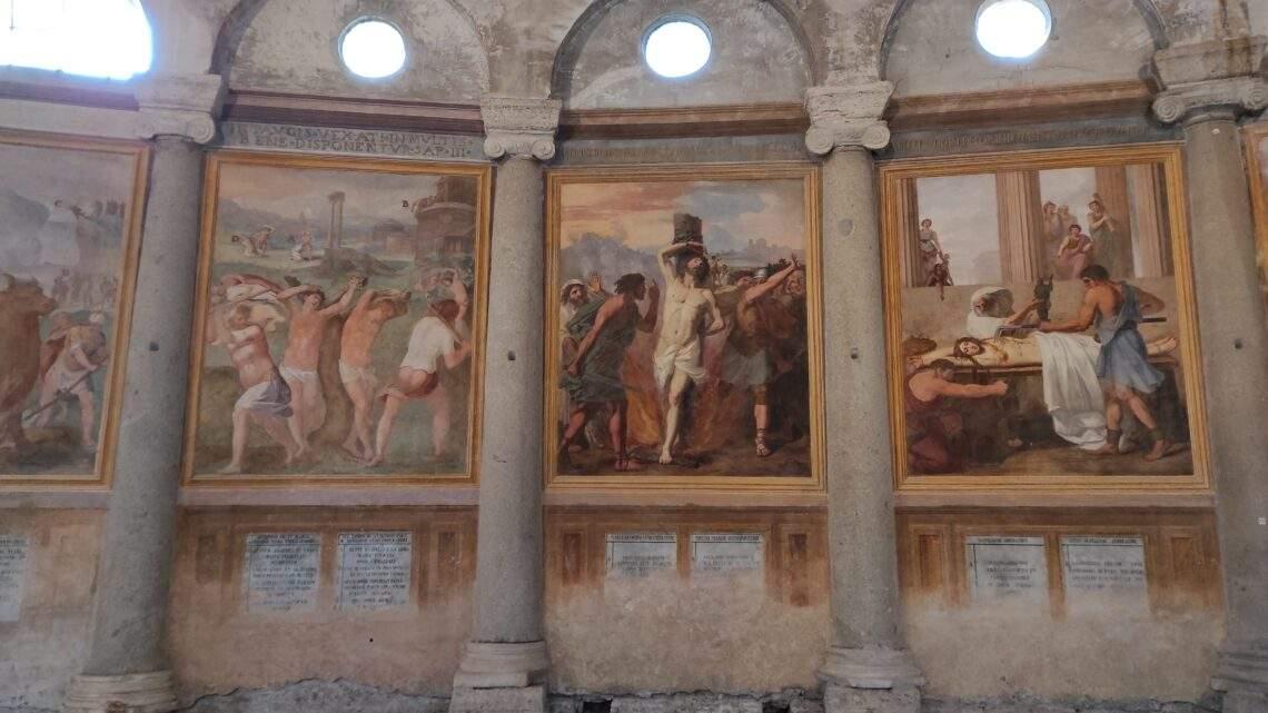 Santo Stefano Rotondo tra simbolismo e iconografia