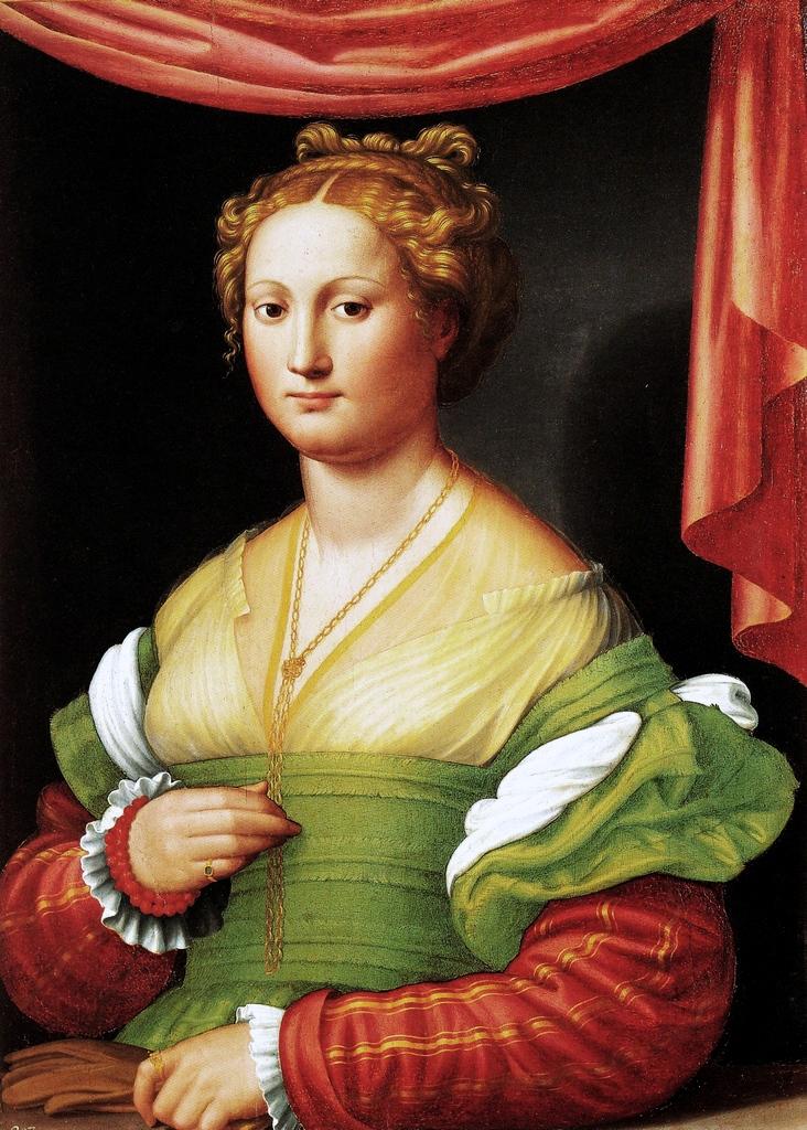 Innocenzo da Imola, Ritratto di Vannozza Cattanei, Galleria Borghese, Roma