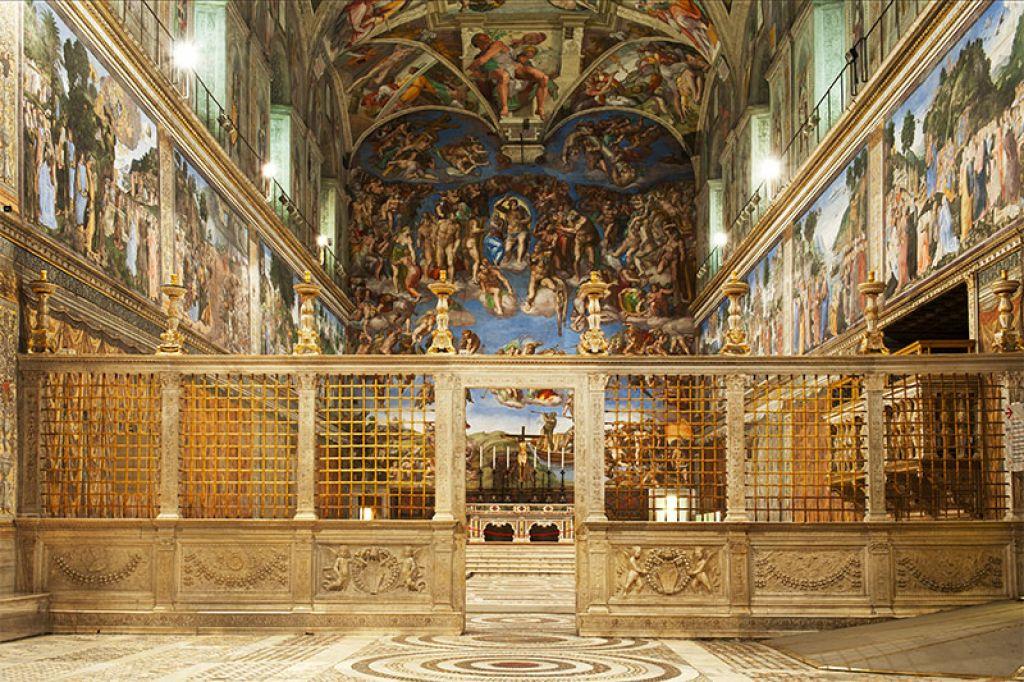 cappella sistina musei varticani